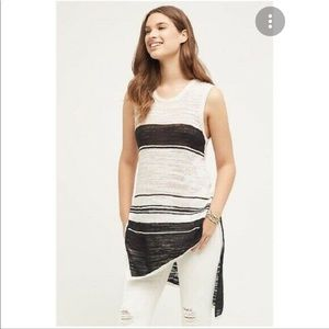 Anthropologie Left of Centre High/Lo Tunic